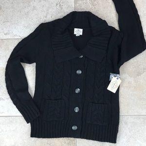 St John's Bay Cardigan Button Up Sweater